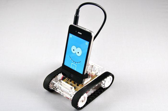 Romo, the Smartphone Robot