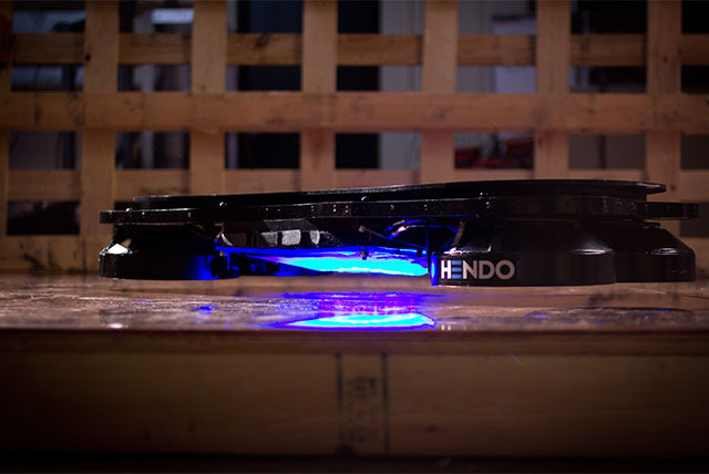 Hendo Hoverboard, the First Levitating Device