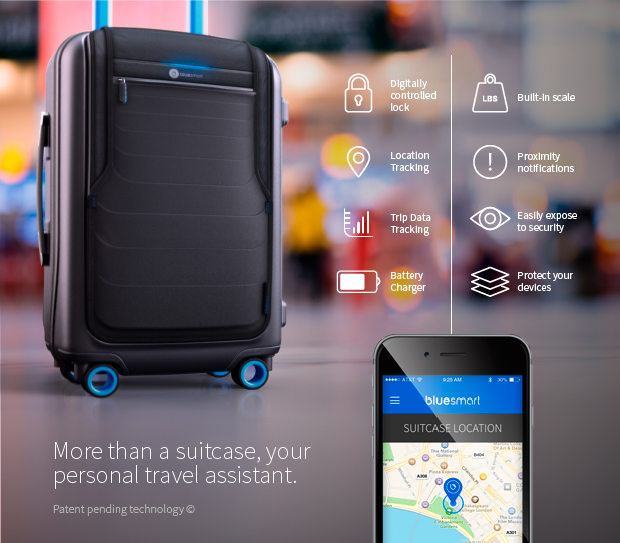 Bluesmart, the First Smart Suitecase