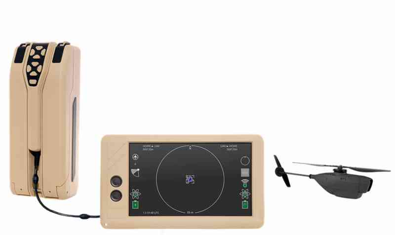 Prox Dynamics Introduces 18 Gram Helicopter with a Thermal Camera