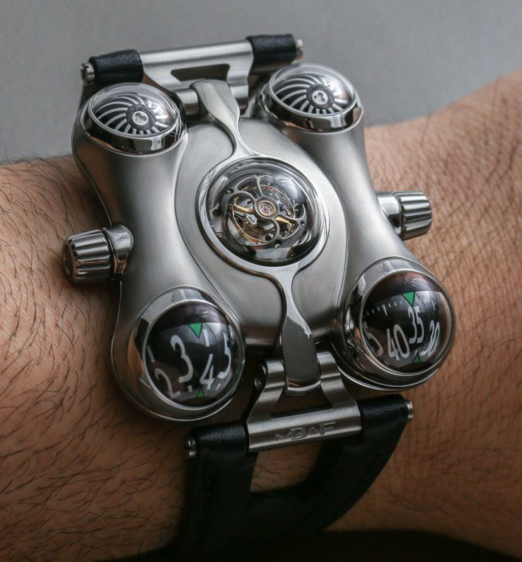 Mb&f Hm6, the Space Pirate Watch