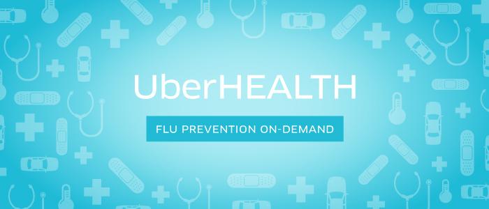 The Uber App Now Offers Flu Shots on Demand!