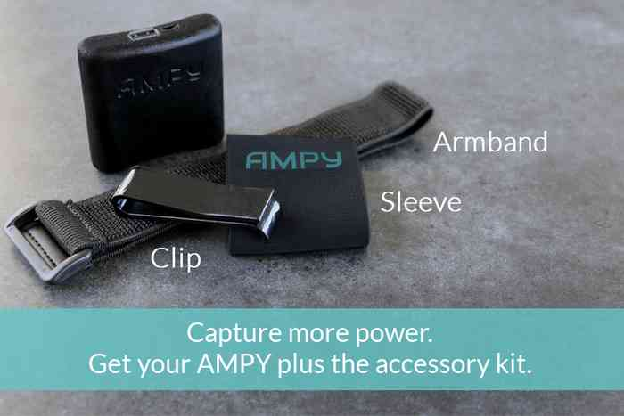 Ampy – Time to Use Your Own Energy to Power Your Smart Devices