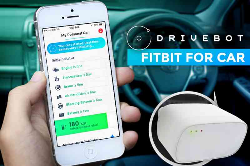 Know Your Car, Drive Safe & Save Money with Drivebot