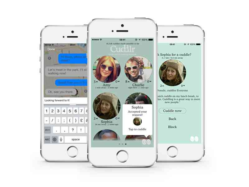Get Up Close and Personal with the New Cuddlr App