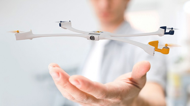 Nixie: the Newest Selfie Gadget is a Wearable Drone