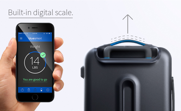 Bluesmart: World's First Smart Suitcase!