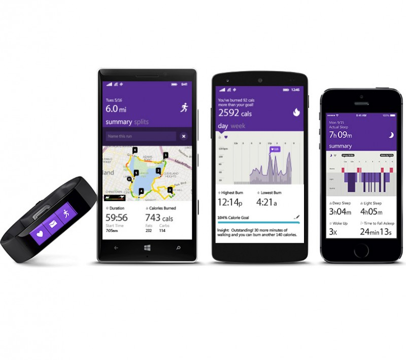 Microsoft Band Marks the Foray of Windows Maker into the World of Wearable Fitness Tracker