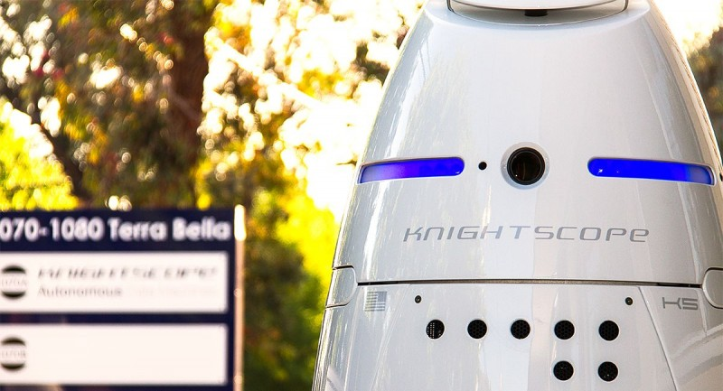 Knightscope K5 – the Replacement Robot Security Guard