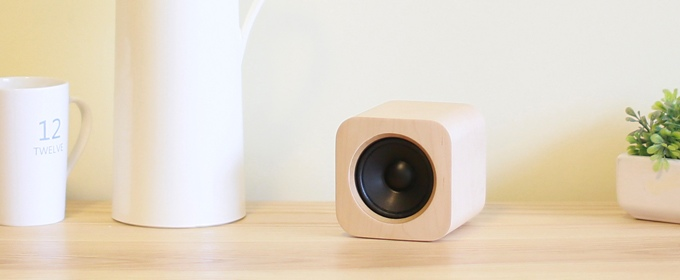 The Sugr Cube: Stream Your Music with Touch Controls