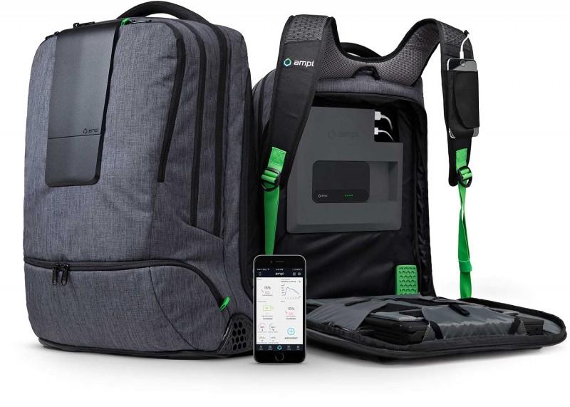 No Charger? No Problem! Ampl Smartbag