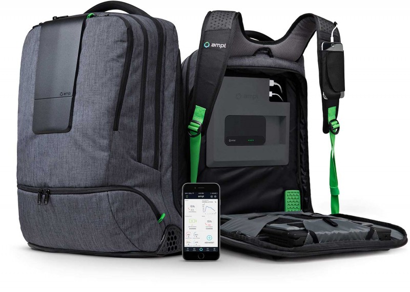 No Charger? No Problem! Ampl Smartbag