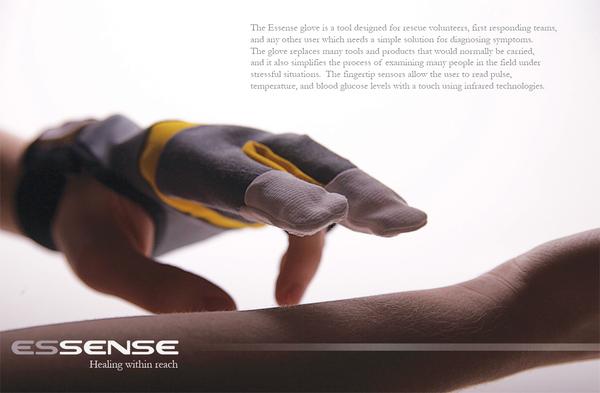 Essense Glove: a Useful Tool for Paramedics, at Emergency Care & Myriad Purposes