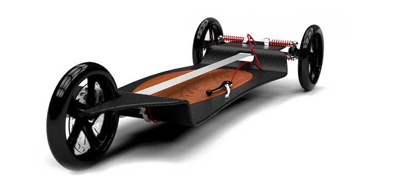 The World's First Citysurf Deska Board Gears Up for a Launch