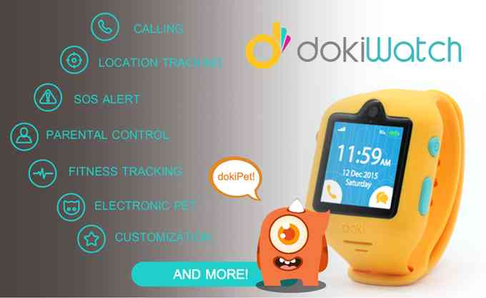 Dokiwatch: a New Smartwatch for Kids