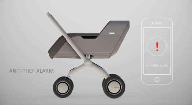 Smartbe Intelligent Stroller: a New Kind of Stroller