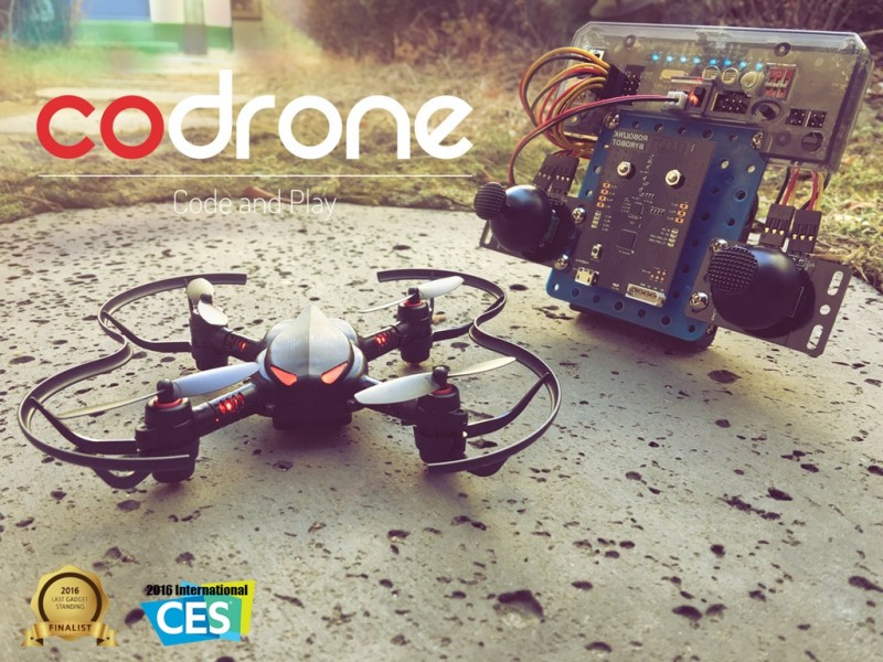 Codrone: Learn to Code and Play with Drone