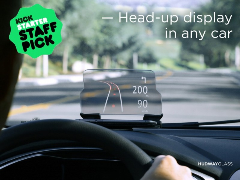 Hudway Glass Head-up Display