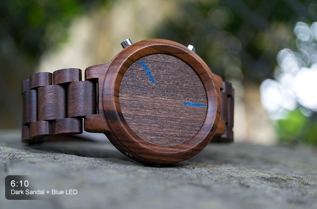 Kisai Blade Wood Led Watch: a Very Intriguing Watch