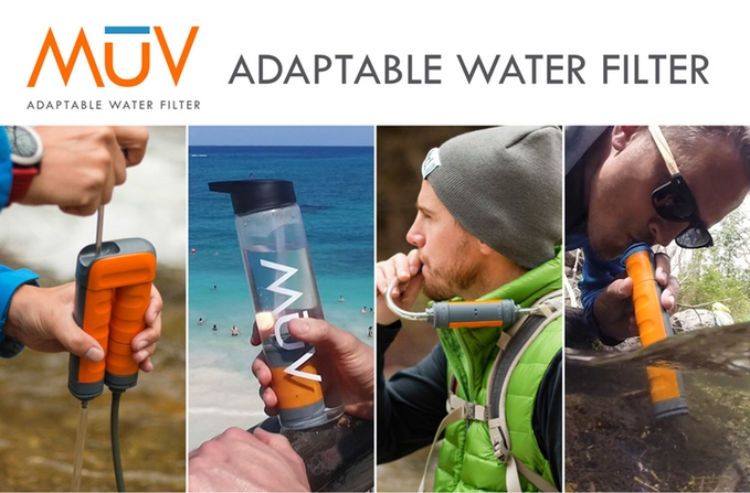Muv—get Clean, Filtered Water Wherever You Go Now