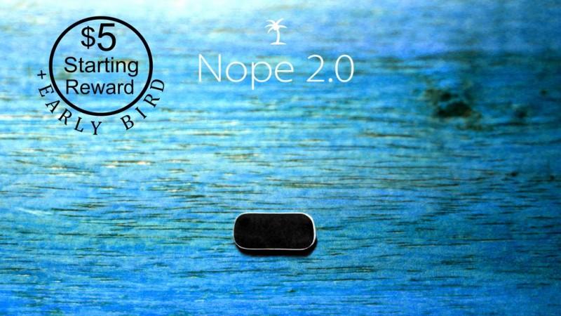 Nope 2.0 Webcam Cover