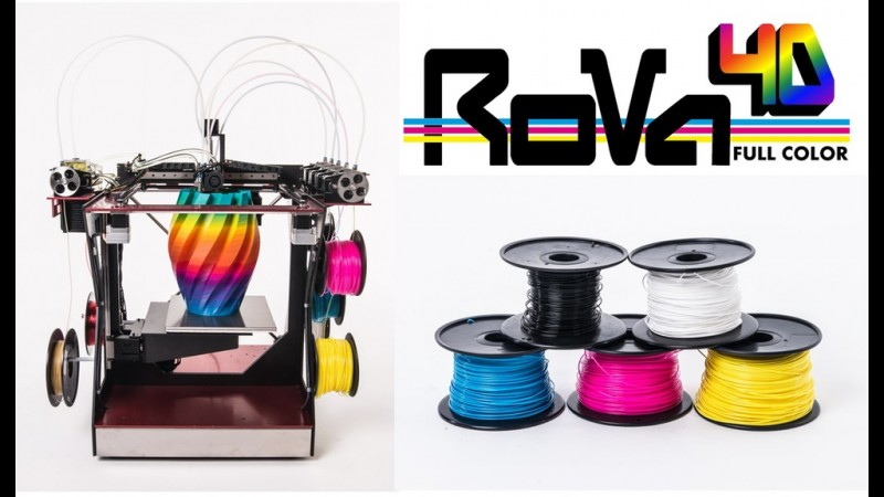 Rova4d: the 3d Printer