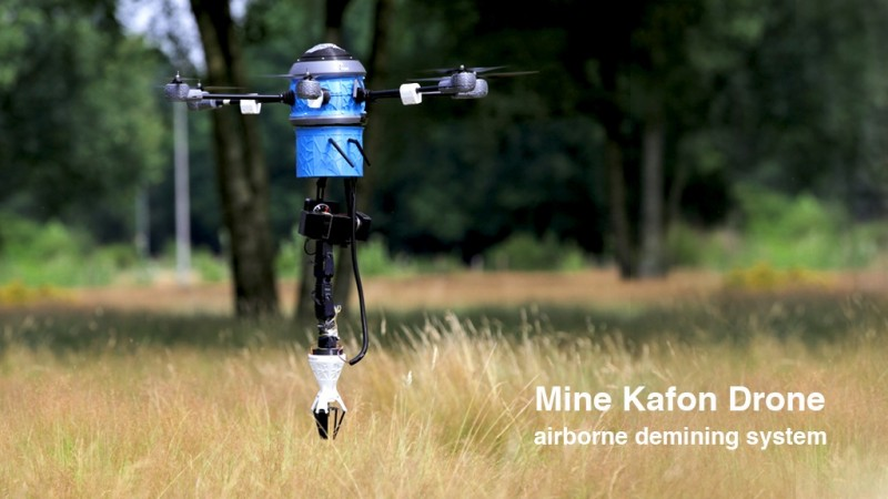 Mine Kafon Drone: the Demining System