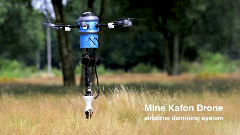 Mine Kafon Drone: the Demining System