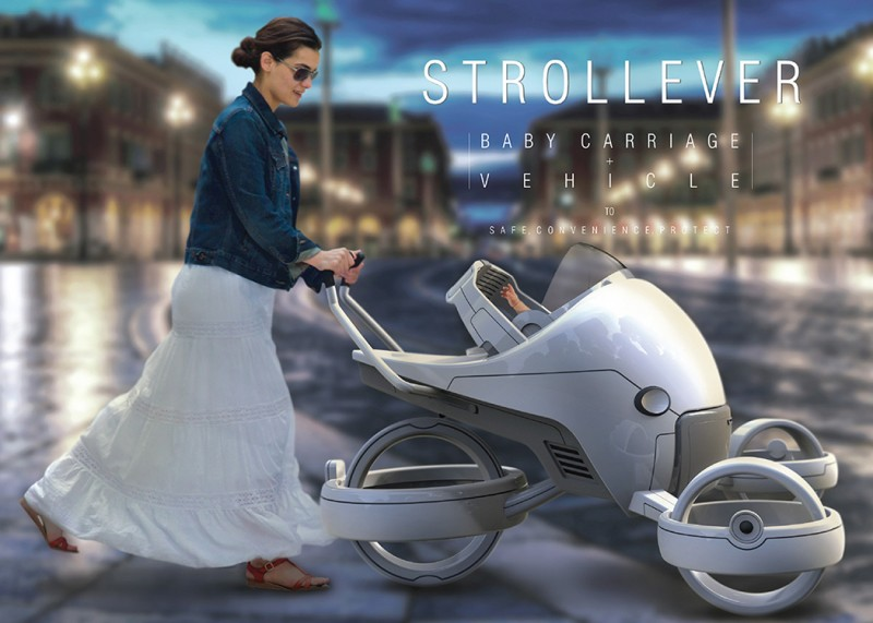 The Future Baby Carriage – Strollever