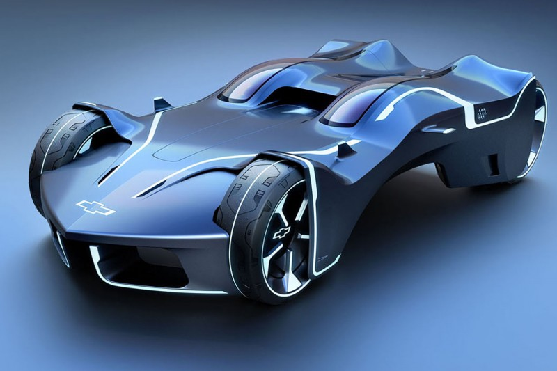 The Tron Vette – Ride in Style