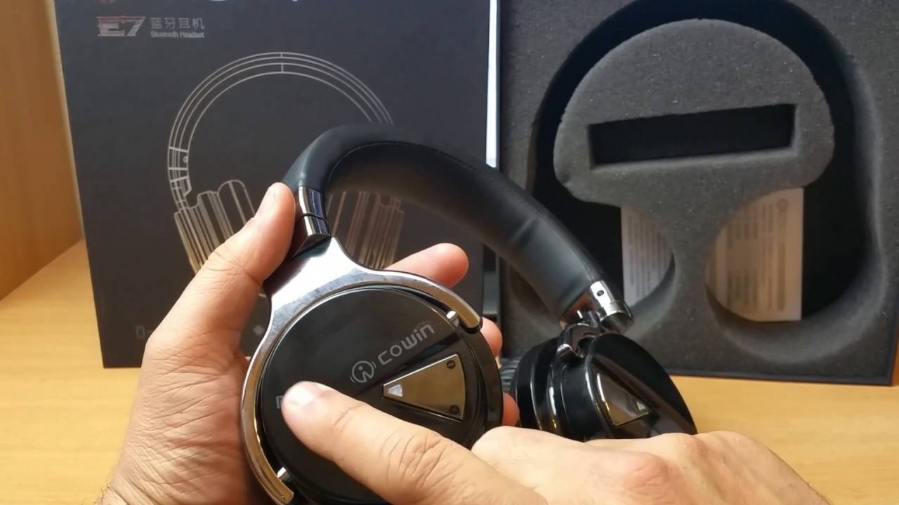 Cowin E-7 Active Noise Cancelling Bluetooth Headphones Review