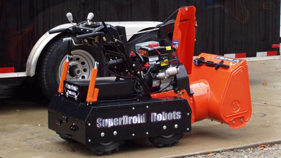 Robot Shop 4WD Snow Blower RC Robot