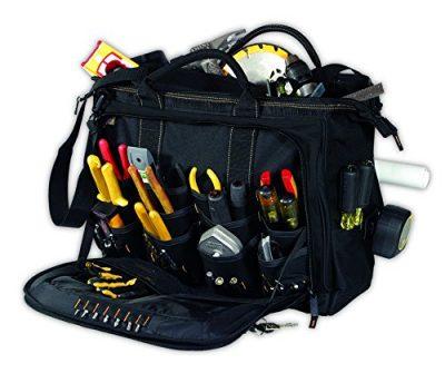 Custom LeatherCraft 1539 electrician tool bag