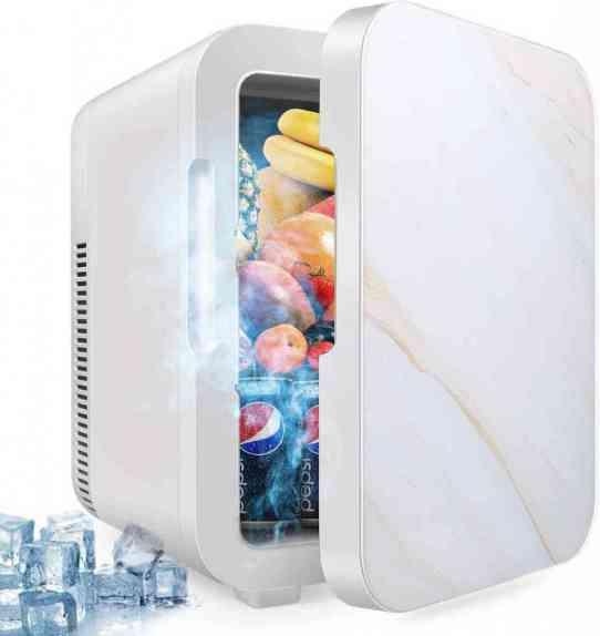 GDMONIN 10 Liter Cooler/Warmer Compact Mini Fridge: