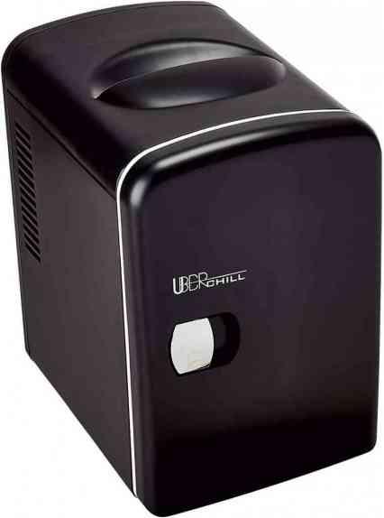Uber Appliance UB-CH1-MB Mini personal Fridge