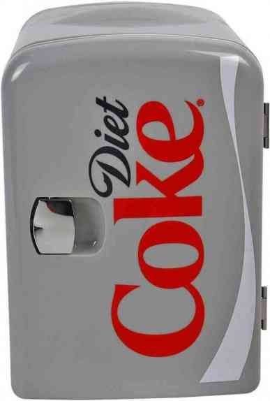 Coca-Cola DC04 AC/DC (4L) Capacity, Thermometric Mini Fridge