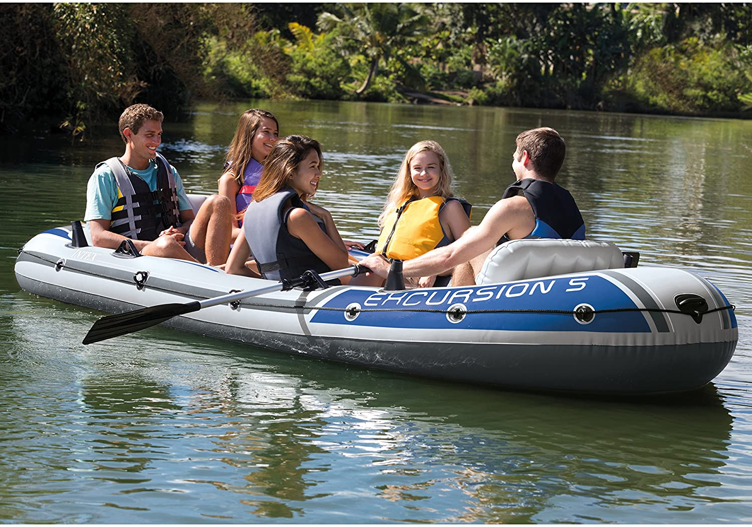 Intex Best Available Alternate to Pexmor Inflatable Boat